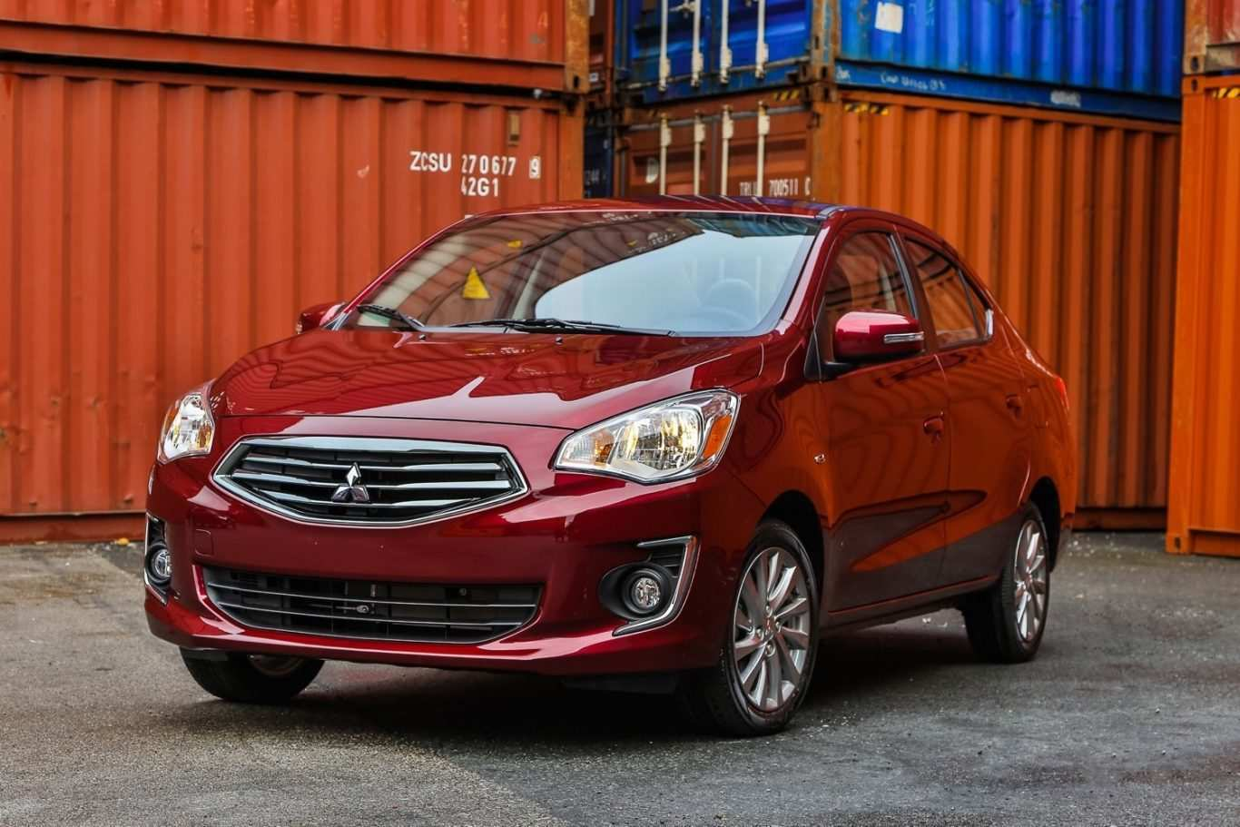 75 The Mitsubishi Mirage 2020 Spy Shoot
