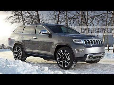 76 A 2020 Jeep Grand Cherokee Interior Model
