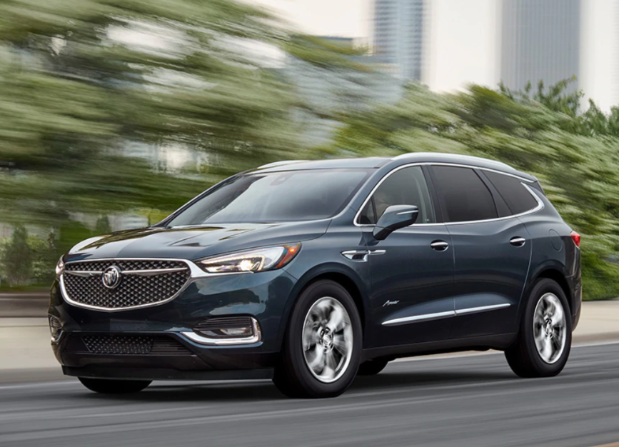 76 A Buick Enclave 2020 Colors Speed Test