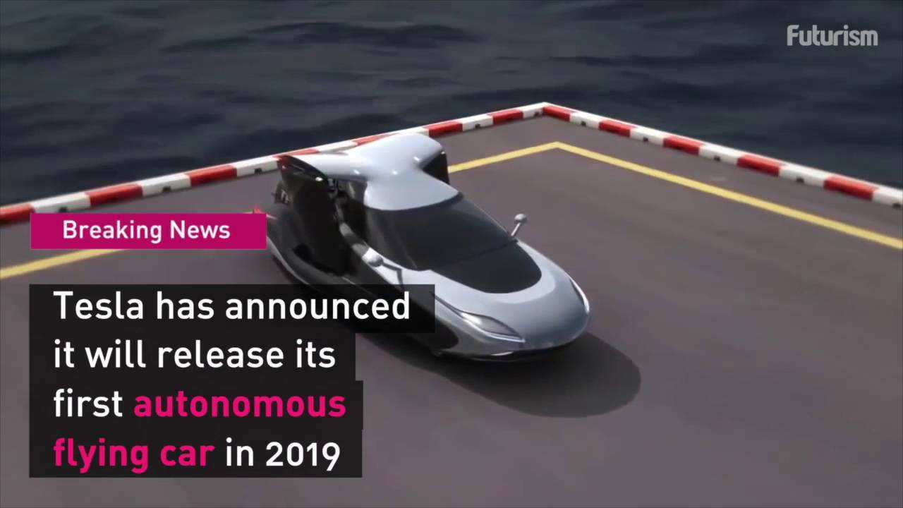 76 A Tesla 2019 Flying Car Redesign And Concept