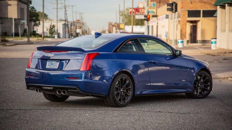 76 All New 2019 Cadillac Cts V Coupe Spy Shoot