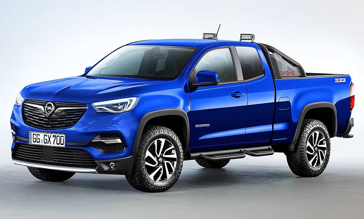 76 All New Opel Colorado 2020 Redesign