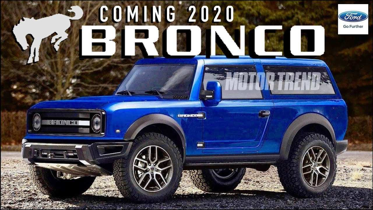 76 New 2020 Ford Bronco Images Photos