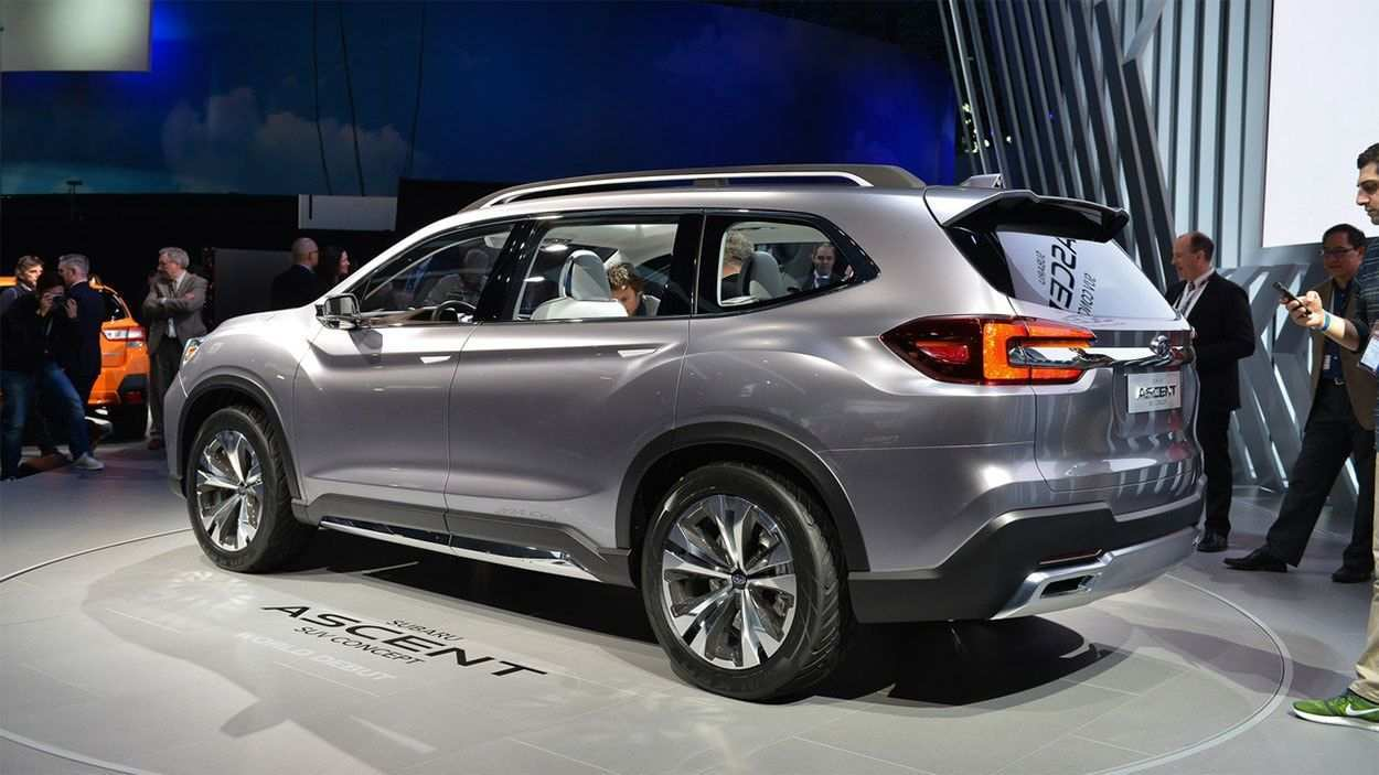 76 The Best 2020 Subaru Ascent Release Date Interior