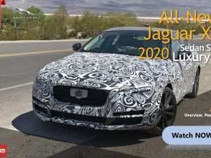76 The Best New Jaguar Xf 2020 Review and Release date