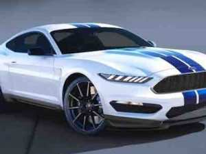 77 A 2020 Ford Mustang Mach 1 Exterior