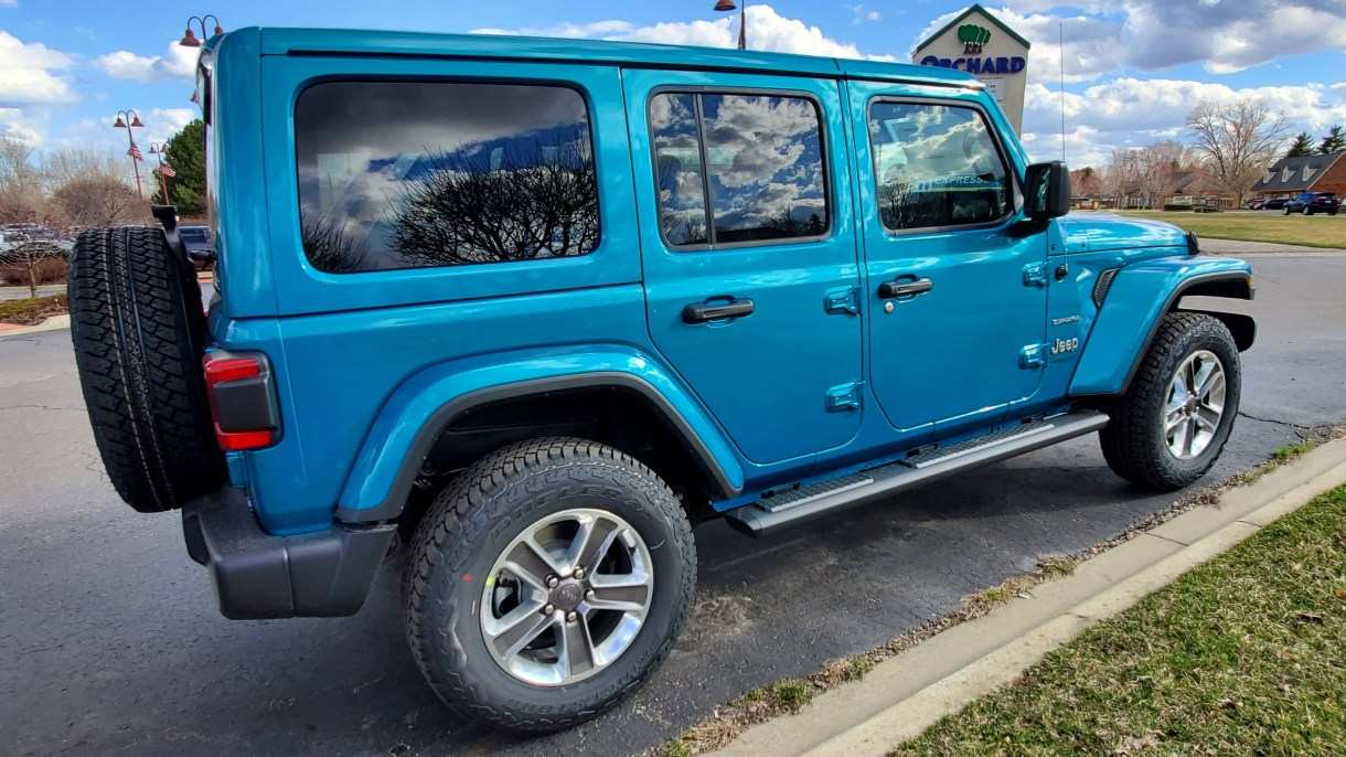 77 The 2020 Jeep Wrangler Exterior Colors Price Design And Review