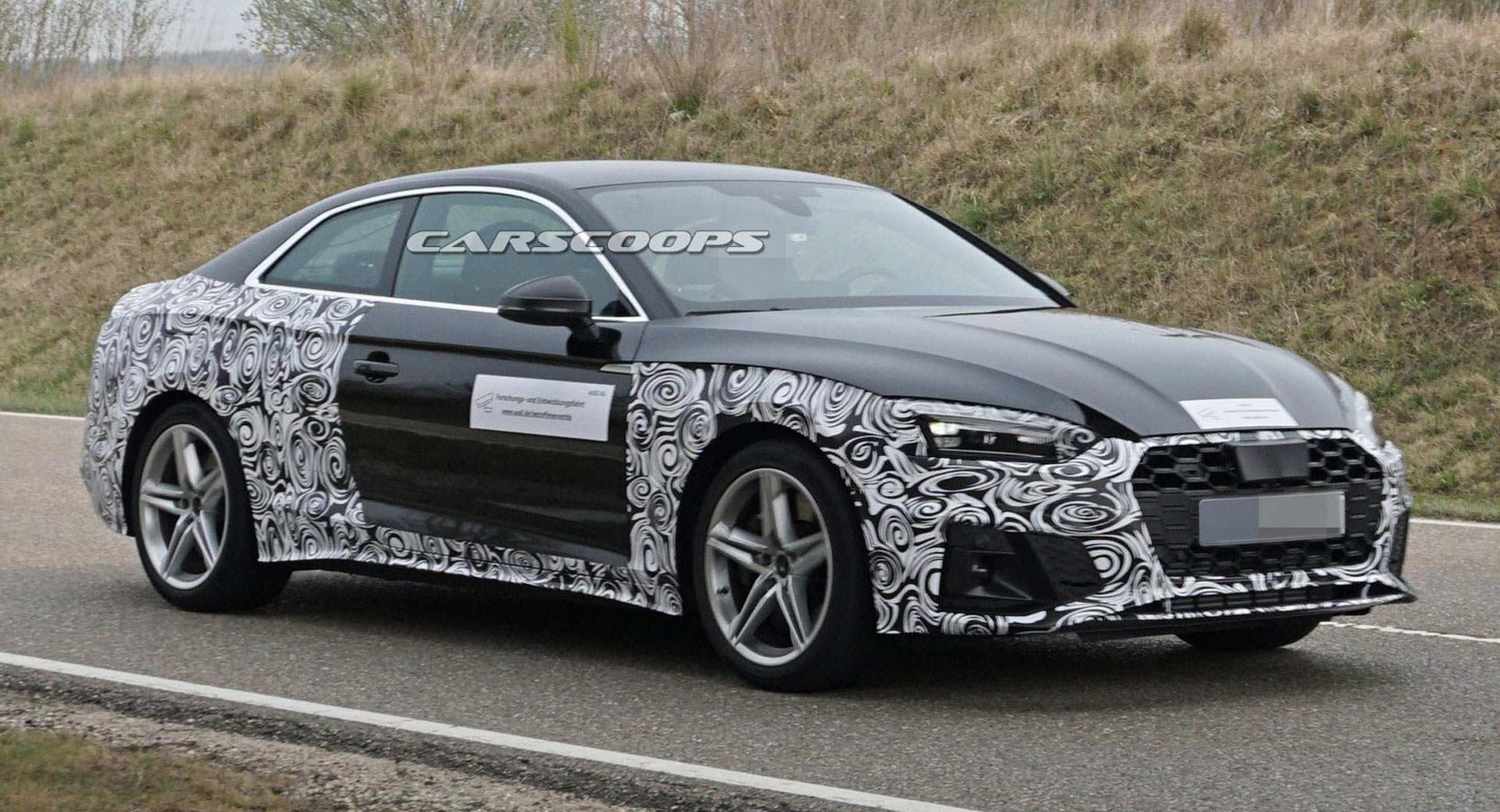 77 The Audi Rs5 2020 Spy Shoot