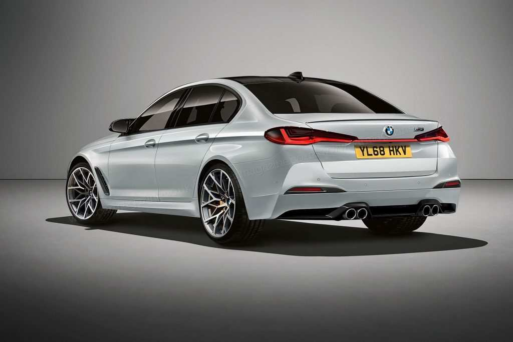 77 The BMW 5 Series Lci 2020 New Concept