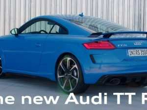 77 The Best Audi Tt Rs 2020 New Model and Performance