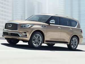 77 The Infiniti Qx80 2019 Concept and Review