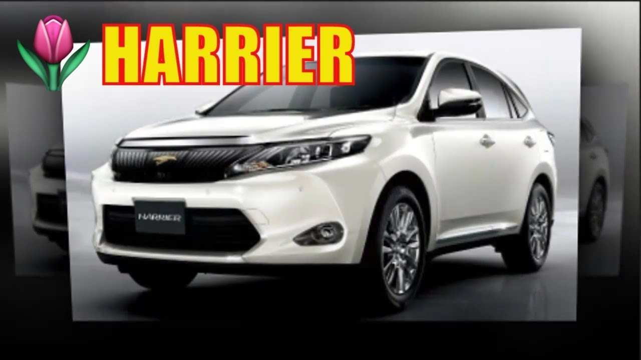 77 The Toyota Harrier 2020 Overview