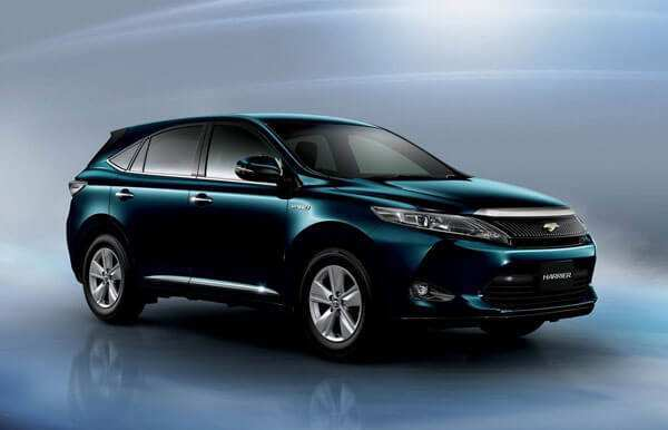 77 The Toyota Harrier 2020 Redesign And Review
