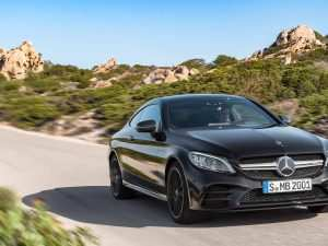 78 A Mercedes C Class Coupe 2019 History