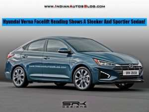 78 All New Hyundai Verna Facelift 2020 Price and Release date