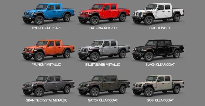 78 New 2020 Jeep Gladiator Color Options Images