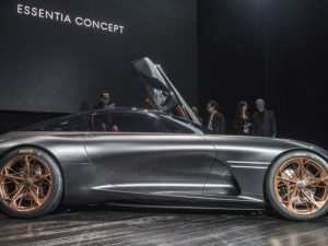 78 The 2019 Genesis Essentia Concept and Review