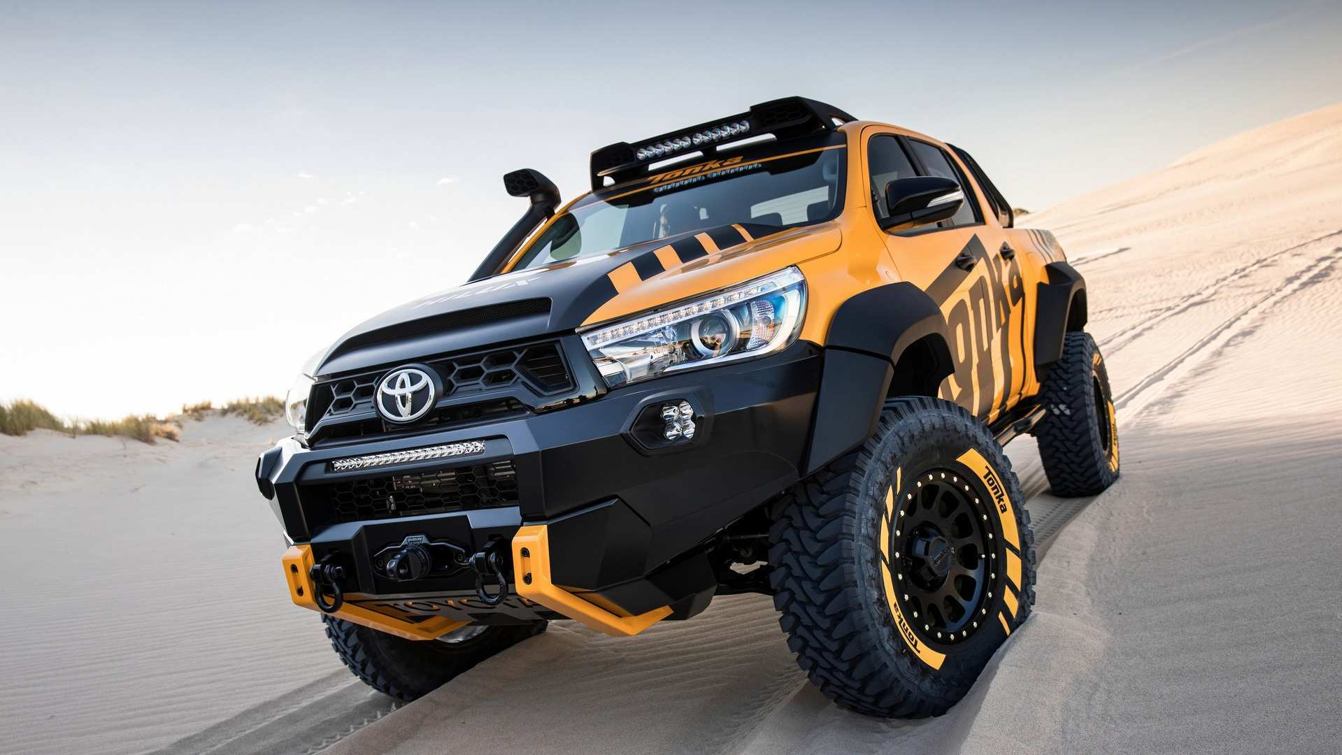 78 The 2019 Toyota Hilux Facelift Concept And Review