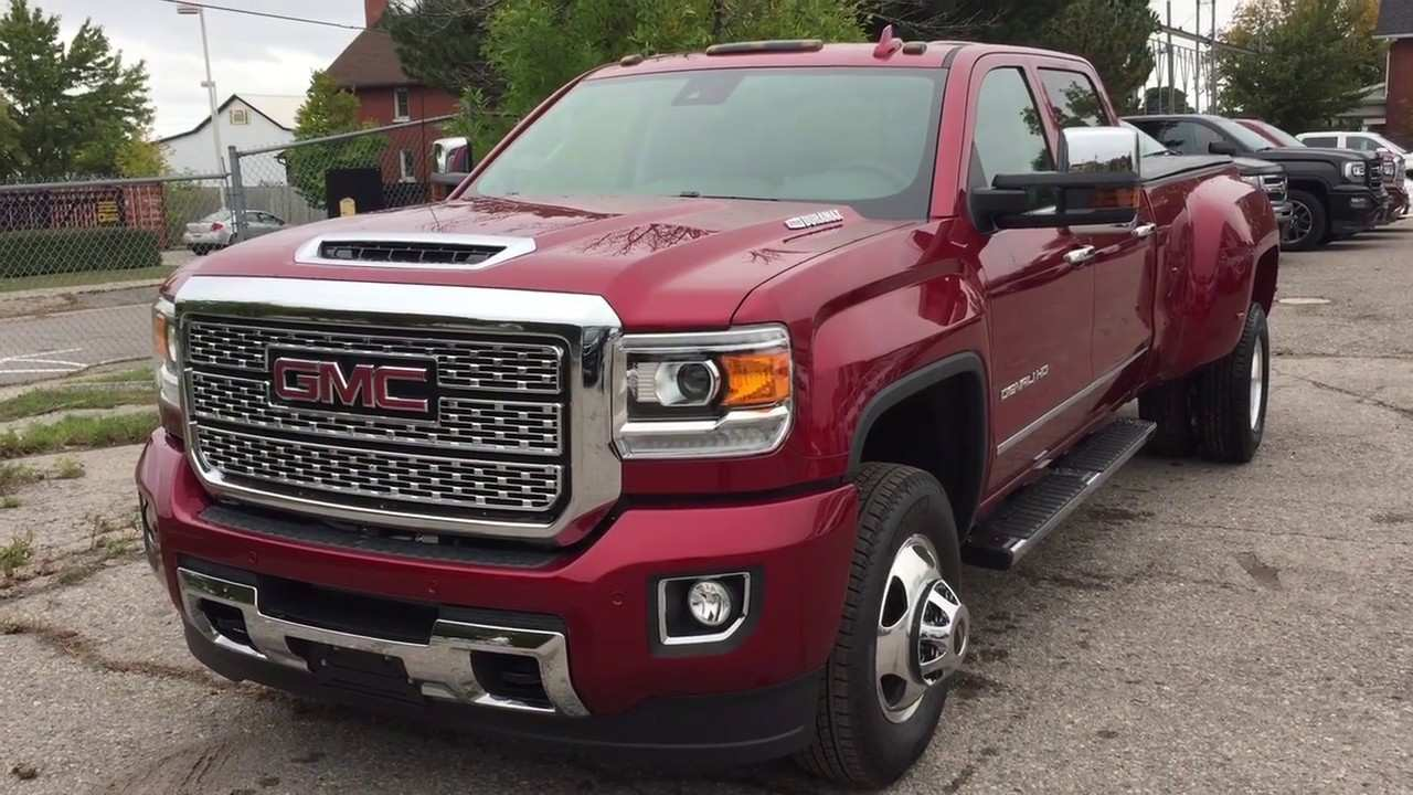 78 The Best 2019 Gmc 3500 Dually Denali New Concept
