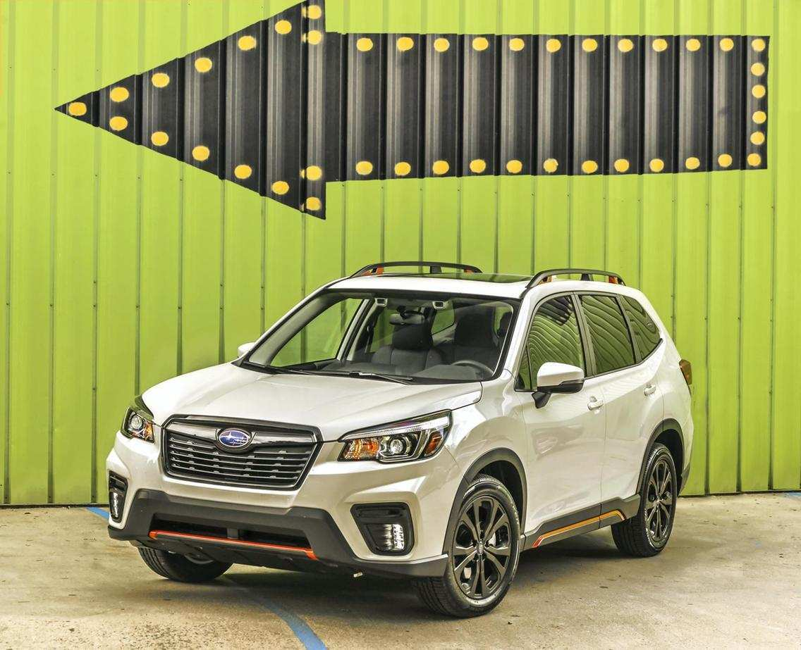 78 The Subaru Forester 2019 News Performance And New Engine