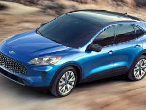 79 A Ford New Escape 2020 Redesign