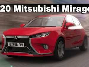 79 A Mitsubishi Mirage Facelift 2020 Overview
