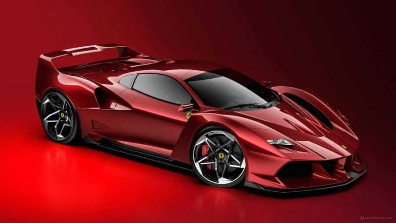 79 All New Ferrari 2020 Supercar Exterior And Interior