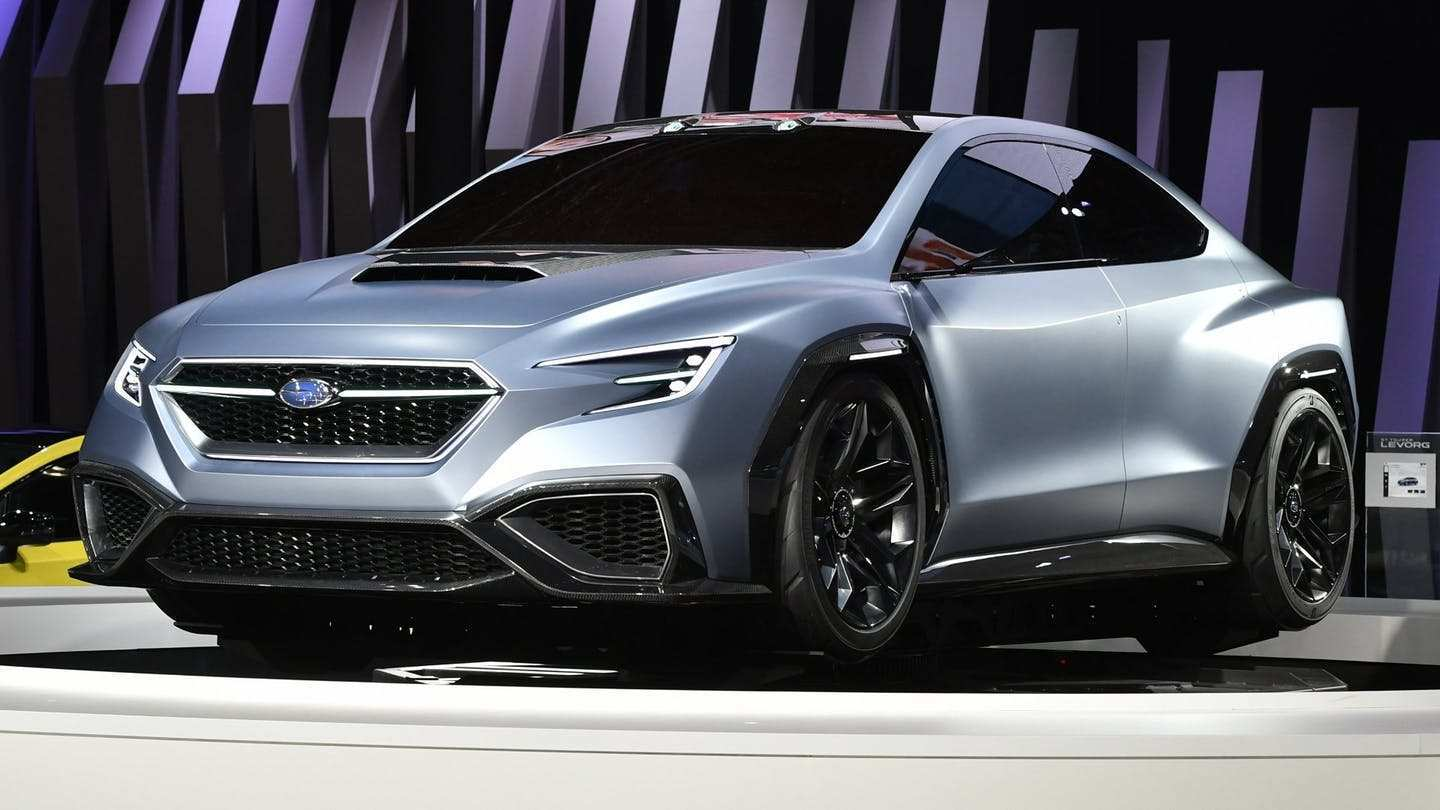 79 Best Subaru Wrx 2020 Redesign Release Date And Concept