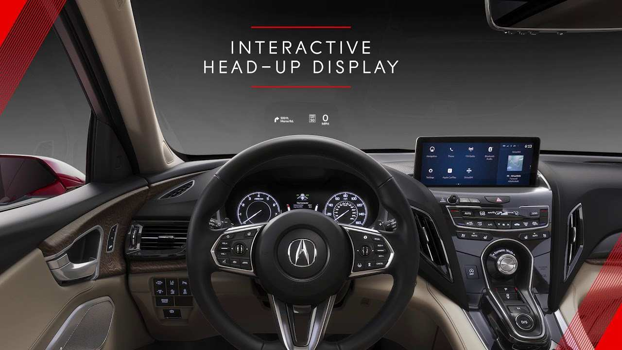 79 New 2019 Acura Rdx Prototype Release Date And Concept