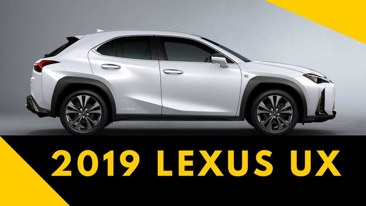 79 New Lexus Ux 2019 Price Review And Release Date