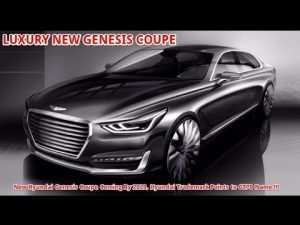 79 The 2020 Genesis Coupe Release