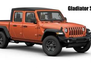 80 A When Can You Order 2020 Jeep Gladiator Price and Release date