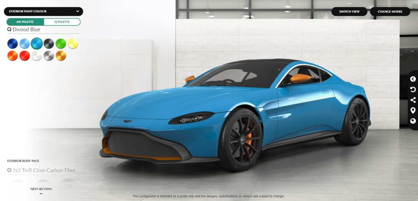 80 The Best 2019 Aston Martin Vantage Configurator Redesign And Concept