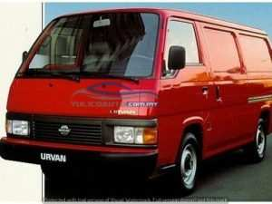 80 The Nissan Urvan 2020 Engine