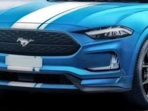 81 A 2020 Ford Mustang Mach 1 Style
