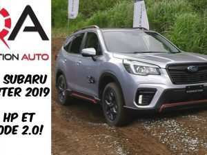 81 All New 2019 Subaru Forester Sport 2 Redesign and Concept