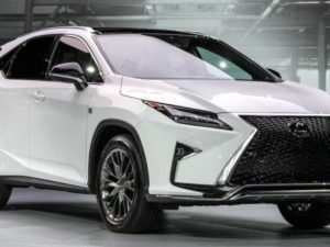 81 New Lexus Rx 350 F Sport 2020 Pictures