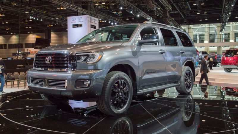 81 The Best 2019 Toyota Sequoia Redesign Style