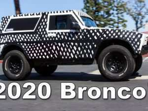 82 A 2020 Ford Bronco Lifted Redesign