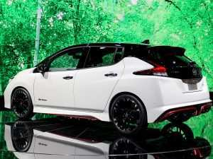 82 A 2020 Nissan Leaf Pictures