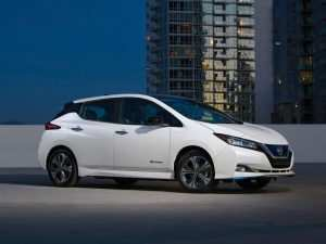 82 A Nissan Leaf 2020 Interior Model
