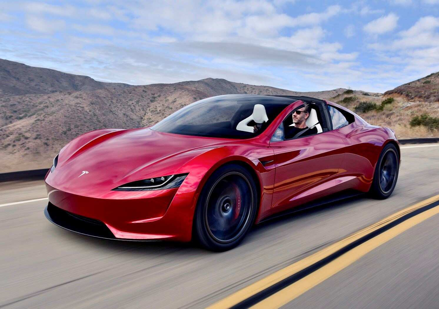 82 A Tesla 2020 Roadster Pre Order First Drive