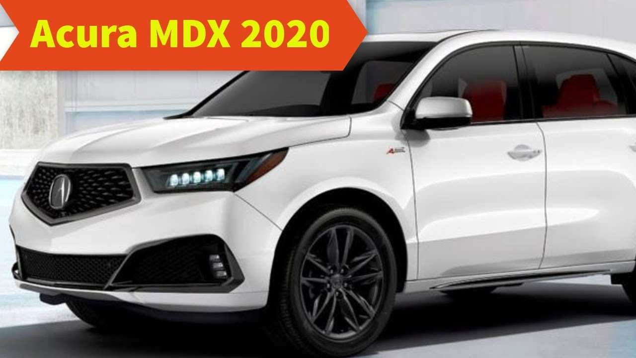 82 Best Acura Mdx 2020 Release Date Overview