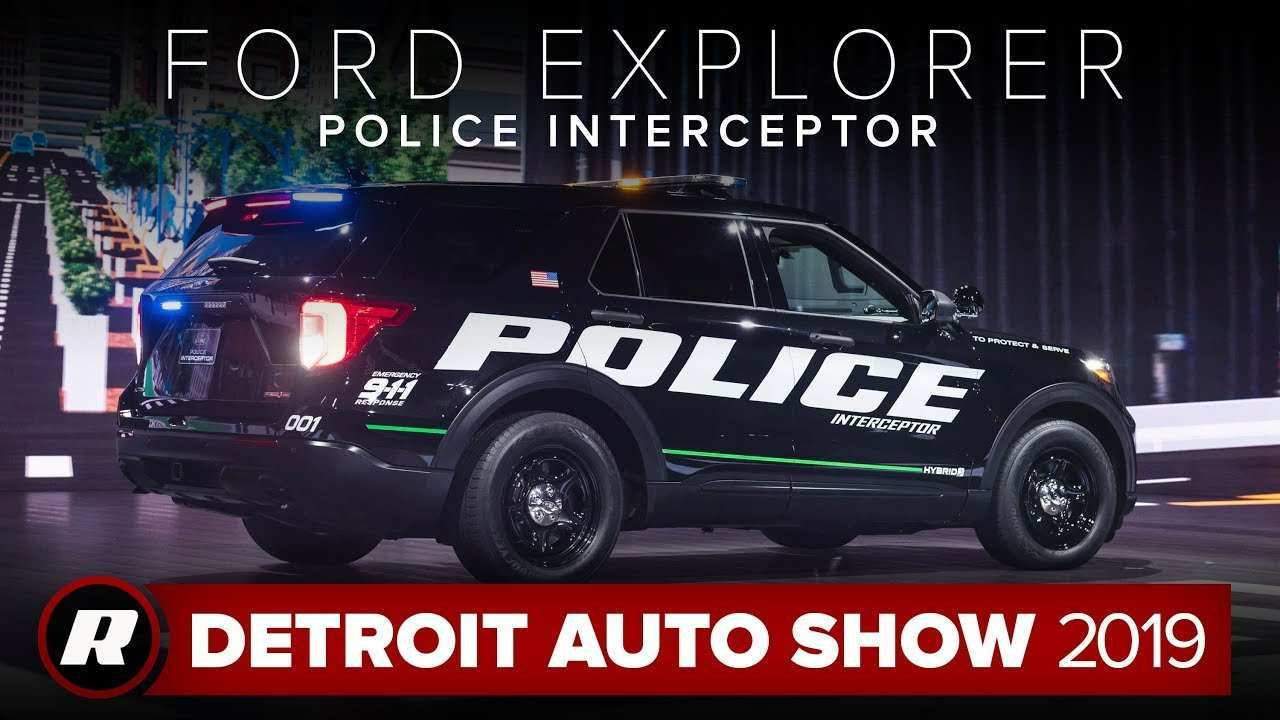 82 New 2019 Ford Interceptor Suv New Model And Performance