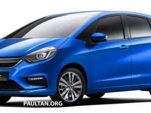 82 New Honda New Jazz 2020 Interior