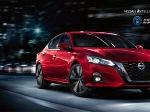 82 The 2019 Nissan Altima News Configurations