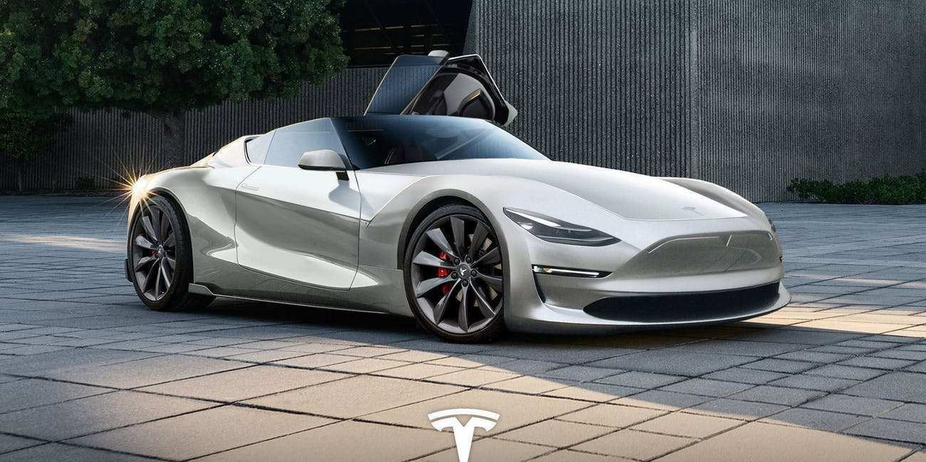 82 The 2019 Tesla Roadster P100D Review