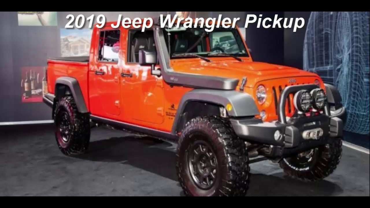 82 The Best 2019 Jeep Pickup Diesel First Drive