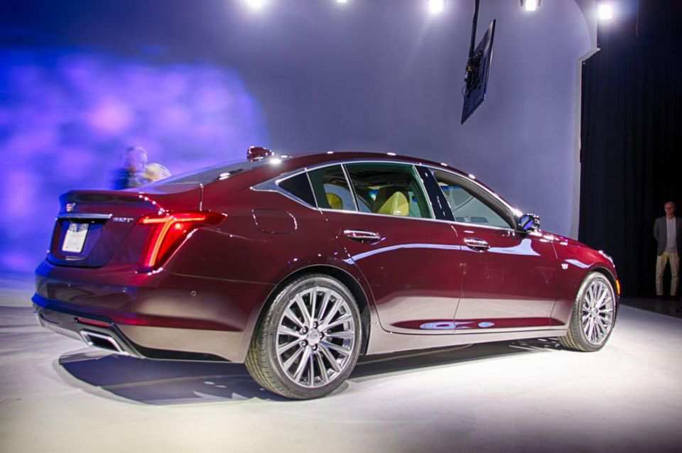 82 The Best Cadillac Ct5 2020 Release Date And Concept