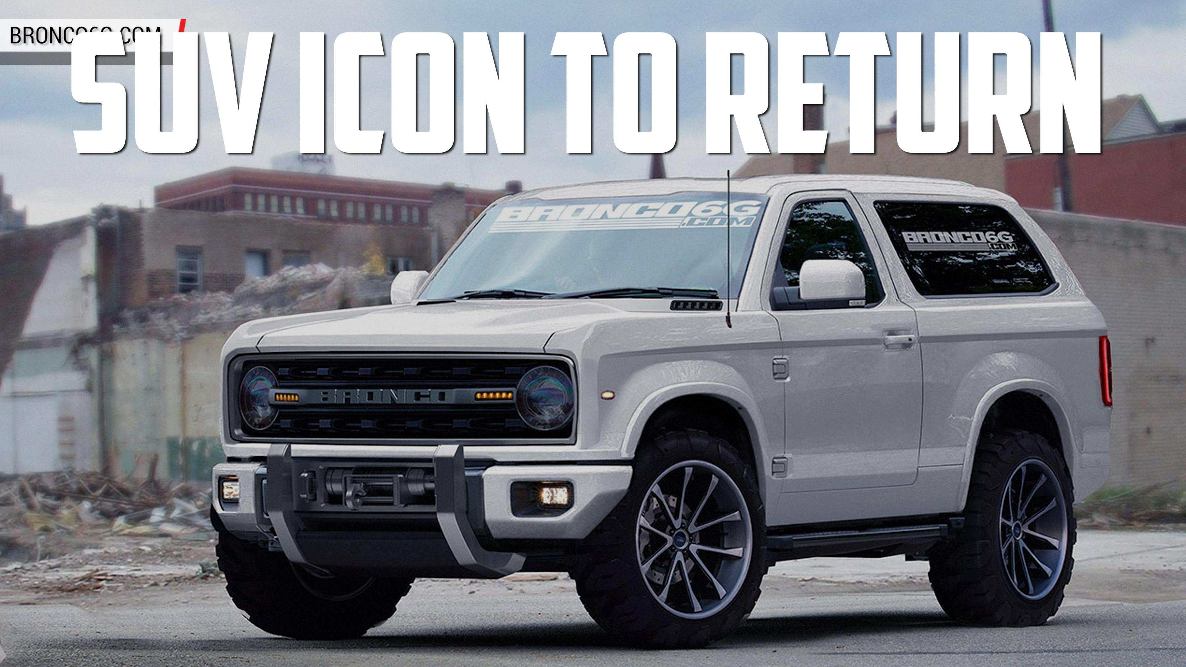 83 A 2020 Ford Bronco Latest News Performance